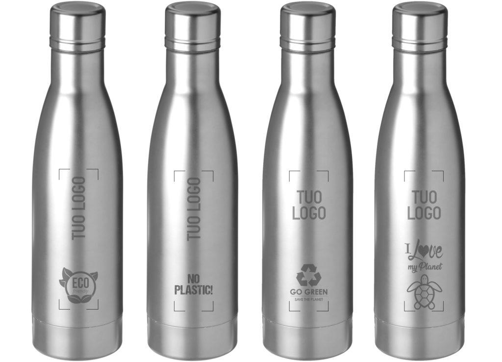 bottiglie ecologiche riciclabili personalizzate