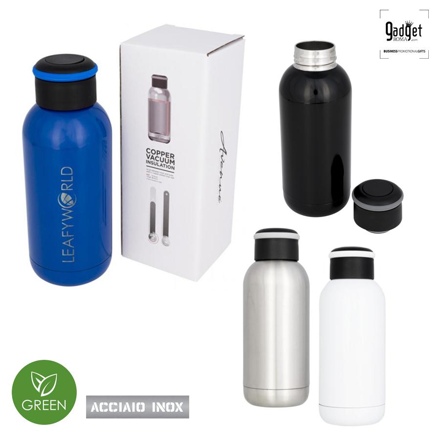 Bottiglie acciaio personalizzate