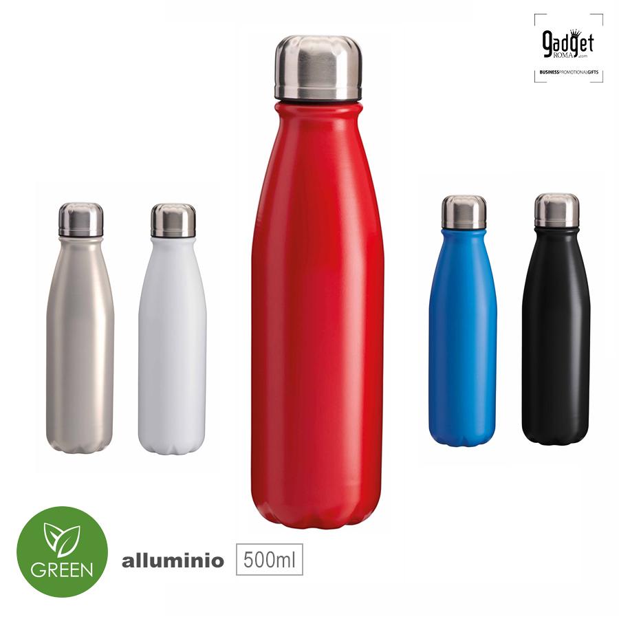 Bottiglie personalizzate alluminio
