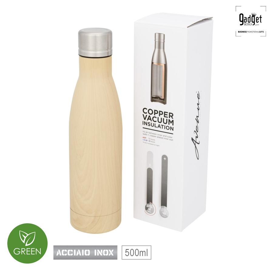 Bottiglie personalizzate acciaio